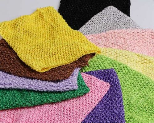 Crochet  Tube Top 8 x 10 From £1.50